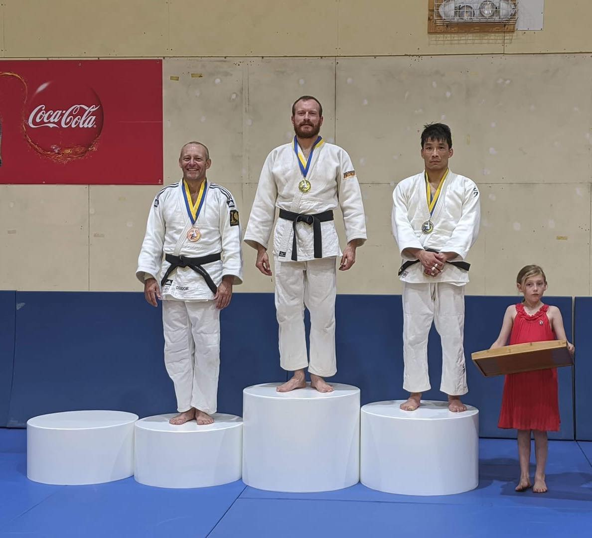 Congratulations to Chris Sensei for winning gold at the Canberra Judo Internatio…